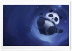 Panda Walking On Water