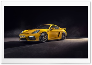 2019 Yellow Porsche 718...