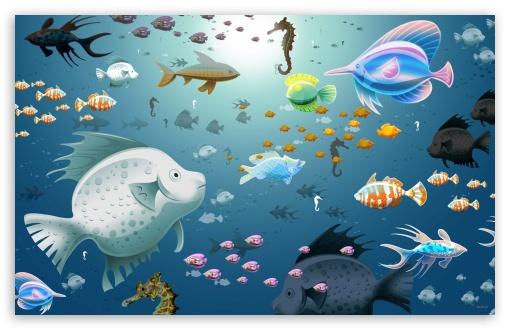 Download Fish UltraHD Wallpaper