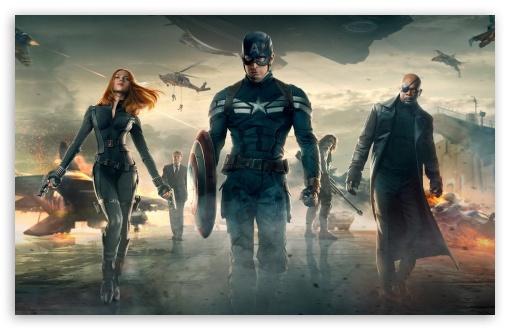 Download Captain America The Winter Soldier HD UltraHD Wallpaper