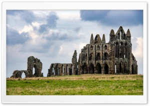 Famous Whitby Abbey...