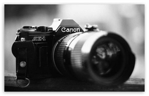 Download Canon AE-1 UltraHD Wallpaper