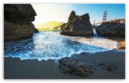 Download Marshall Beach UltraHD Wallpaper