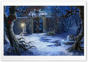 Halloween Haunted House Gates