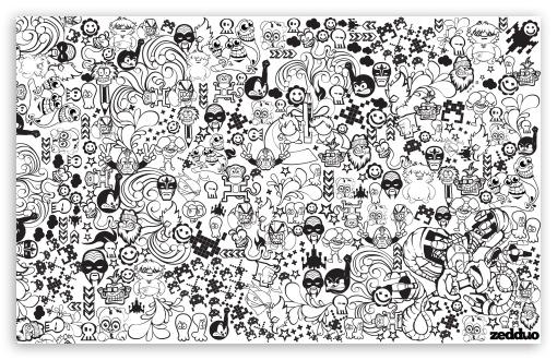 Download Zedduo - Comics UltraHD Wallpaper