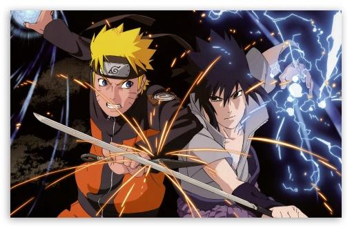 Download Naruto vs. Sasuke UltraHD Wallpaper