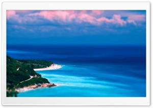 Caribbean Coast Tilt-Shift