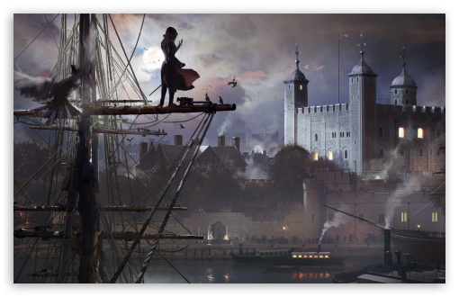 Download Assassins Creed Syndicate Evie Frye UltraHD Wallpaper