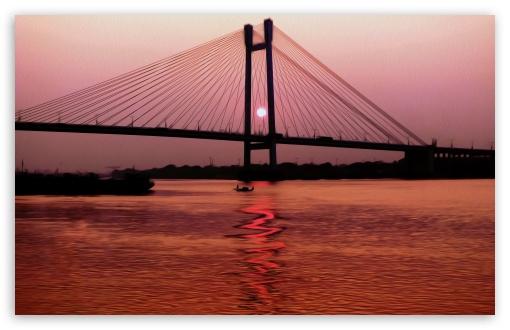 Download Sunset_Kolkata UltraHD Wallpaper