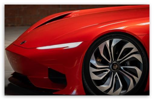 Download Red Karma SC1 Vision Electric Supercar UltraHD Wallpaper