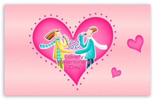 Download Lovely Valentine's Day UltraHD Wallpaper