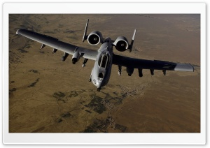 A-10 Thunderbolt II Aircraft