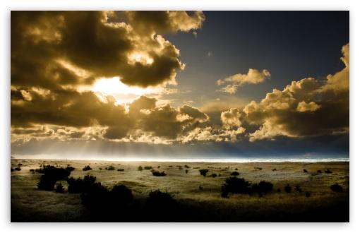 Download Nature Sundown Pacific UltraHD Wallpaper