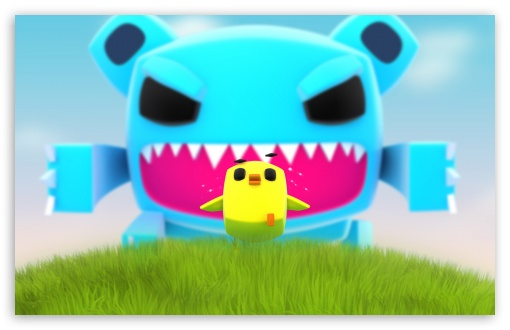 Download Creative Big Monster UltraHD Wallpaper