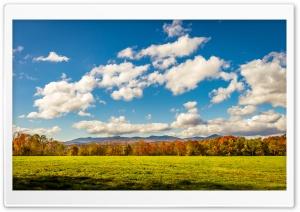 Autumn, Fall, Landscape, Blue...