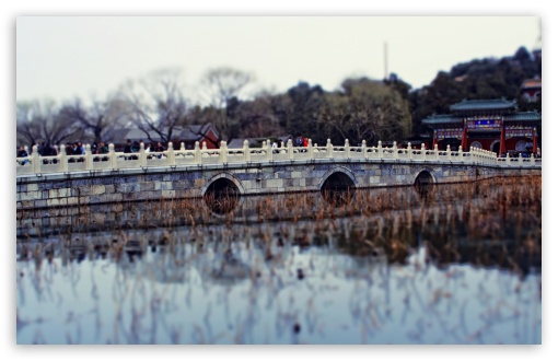 Download Chinese Stone Bridge UltraHD Wallpaper
