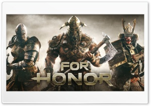 For Honor Video Game 2017,...