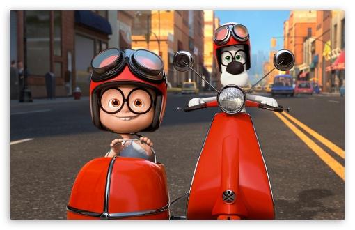 Download Mr. Peabody & Sherman (2014) UltraHD Wallpaper