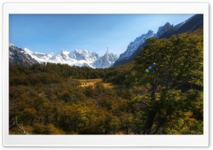 Andes Mountains, Patagonia,...