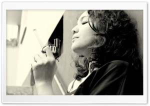 Woman With Revolver