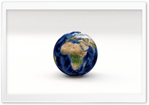 Earth Planet 3D Model Africa,...