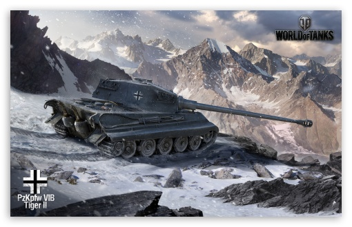 Download World of Tanks Tiger 2 UltraHD Wallpaper