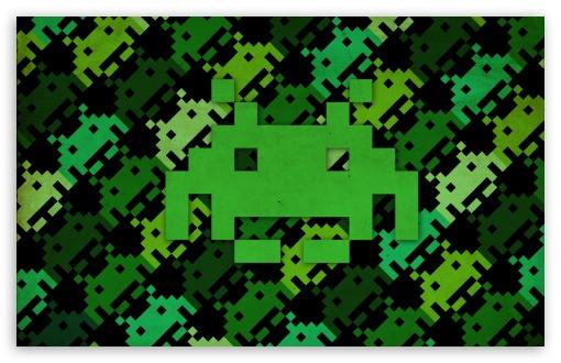 Download Space Invaders 2 UltraHD Wallpaper