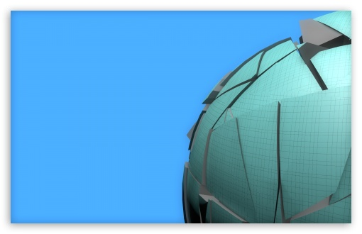 Download Glowing spheres.. UltraHD Wallpaper