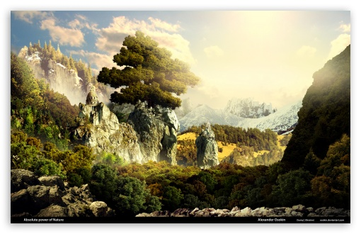 Download Absolute Power of Nature UltraHD Wallpaper