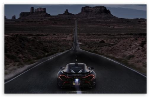 Download McLaren P1 Night Madness UltraHD Wallpaper