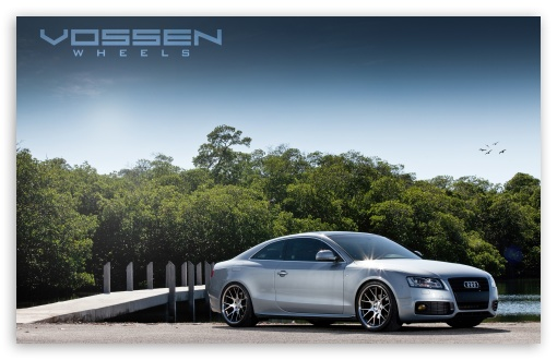 Download Vossen Wheels Audi CV2 10.5 Around UltraHD Wallpaper