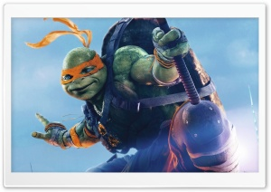 Michelangelo TMNT Out Of The...