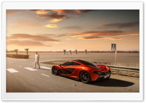2014 McLaren P1 Orange