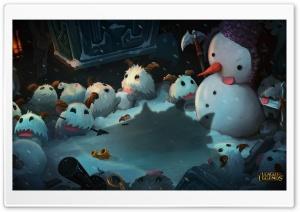 League of Legends Snowman