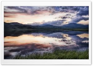 Twilight Over Lake HDR