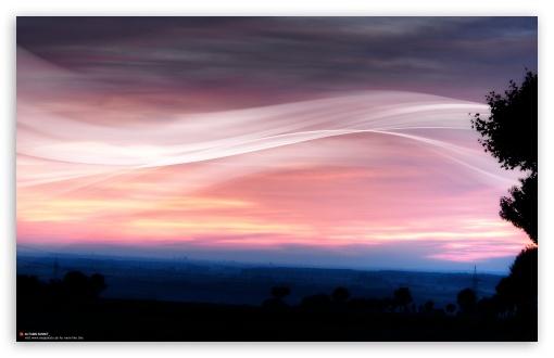 Download Autumn Sunset UltraHD Wallpaper