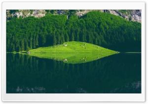 Seealpsee Lake, Switzerland