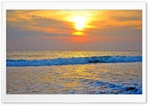 Wavey Sunset