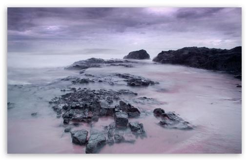 Download Misty Sea Landscape UltraHD Wallpaper