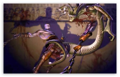 Download God Of War, Game Battle UltraHD Wallpaper