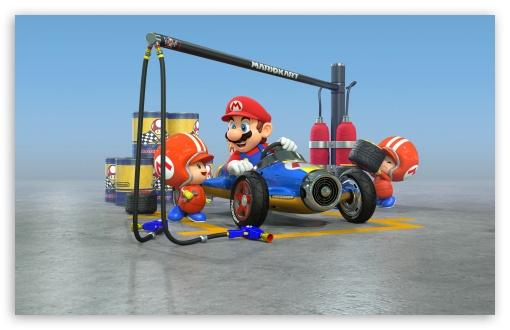 Download Mario Kart 8 UltraHD Wallpaper