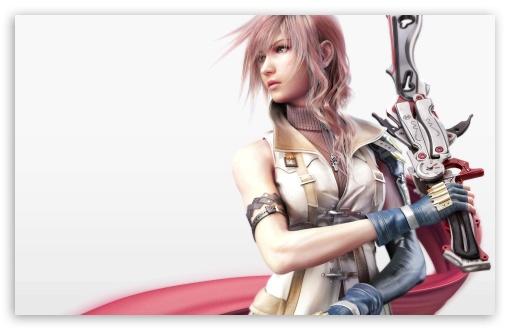 Download FFXIII Lightning UltraHD Wallpaper