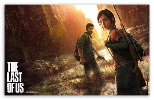 Download The Last of Us Box Art UltraHD Wallpaper
