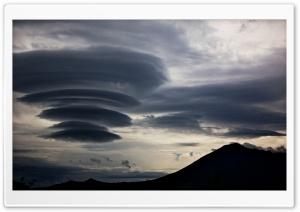 Lenticular Clouds, Mount...