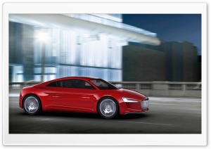 Audi E Tron Night