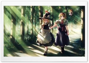 Anime Wizard Girl