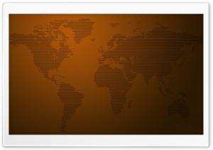 World Map Stripes