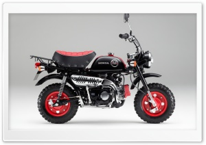 Honda Monkey Z50 Kumamon 2014...
