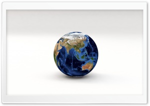 Earth Planet 3D Model Asia,...