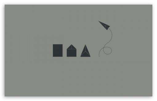 Download Origami UltraHD Wallpaper